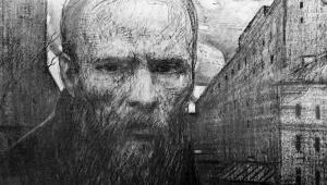 Dostoevsky by Artist Selimkhanov