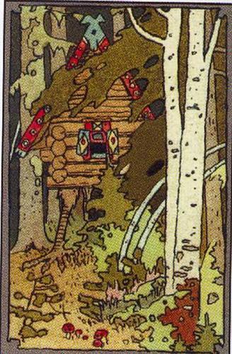 Baba Yaga's Hut by Ivan Bilibin, 1899