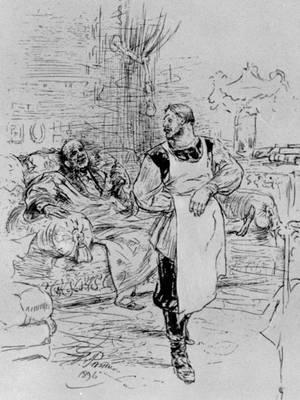 Artist Ilya Repin, 1896
